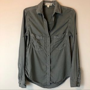 Cloth & Stone Anthropologie Button Down Shirt, XS